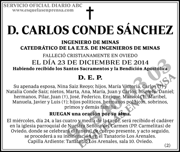 Carlos Conde Sánchez
